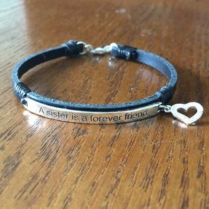 Jewelry - A Sister Is A Forever Friend Bracelet
